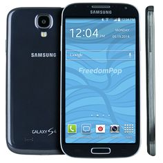Save up to $1,000 every year with the nation's first free mobile phone service with free voice, text and data! The Samsung Galaxy S4 is one of FreedomPop's first LTE smartphones with an amazingly sharp, Full HD Super AMOLED touch screen. The sleek design paired with a simplified and intuitive experience makes for an unbeatable combination. Never miss an important moment again with the 13MP camera and S beam—plus, call and text away to your heart's content!
