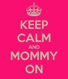 Motherhood...I do wish it wasn't so PINK...motherhood isn't really pink...