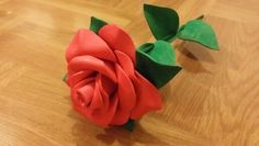 Flor roja#EVA