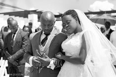 Beautiful African Couple Wedding Photos
