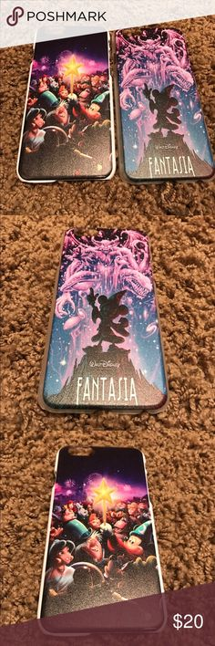 Disney fantasia iPhone 6 phone cases These are brand new and fit iPhone 6. They are plastic and they will come together. Who doesn't love Disney? Disney Accessories Phone Cases