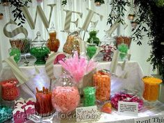 Wedding Food Display | Found on divinepartyconcepts.com