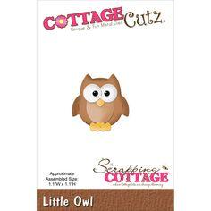 CottageCutz Die - Little Owl