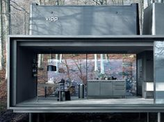Prefab Shelter By Vipp | Interior Design inspirations and articles