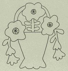 Wool Garden BOM - Petunia Pattern WB-508