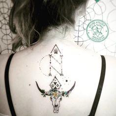 A.N.N.A native american symbols// Epure atelier tattoo// Tattoo artist : Marie Roura