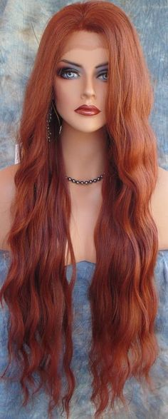 Lace Front Wigs Red