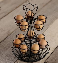 Countertop Egg Holder : ... about Hold that Egg on Pinterest Egg holder, Wire and Egg cups