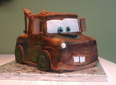 cars mater cake - Google Search