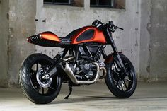 Rivartoro Ducati Scrambler ~ Return of the Cafe Racers