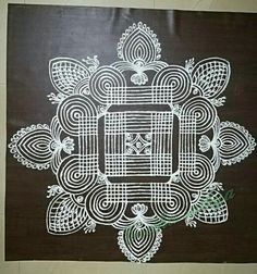 Explore latest easy rangoli design image ideas collection for Diwali. Here are amazing simple rangoli designs to decorate your home this festive season. Best Rangoli Design, Simple Rangoli Designs Images, Rangoli Kolam Designs, Rangoli Ideas, Rangoli Designs With Dots, Kolam Rangoli, Flower Rangoli, Beautiful Rangoli Designs, Mehandi Designs