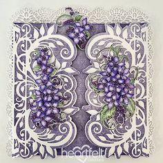 Heartfelt Creations - Elegant Lilac Gatefold Project