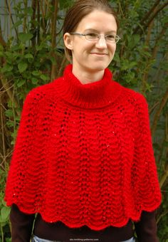 fantastic in mohair and a little shorter gives it a modern look <3 - Little Red Riding Capelet