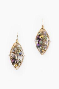 Crystal Celeste Earrings on Emma Stine Limited