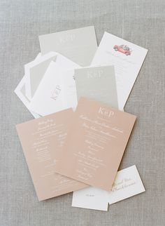 Kraft paper. Stationery Collection. Photography: Joel Serrato - joelserrato.com