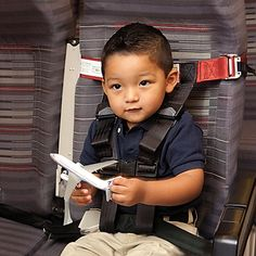 FAA-Approved Child Airplane Harness | OneStepAhead.com