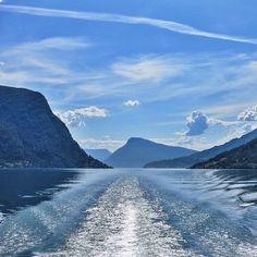 Lustrafjord, Skjolden, Norway. Photo courtesy of isachenn on Instagram.
