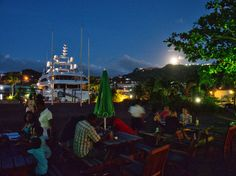 Moonrise, Port Louis Marina, Grenada | by stevieB