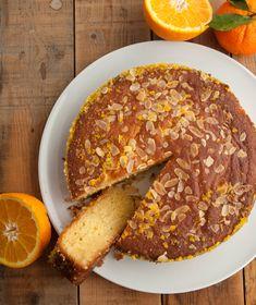 Σιροπιαστό κέικ με εσπεριδοειδή