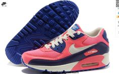 Nike Air Max 90 Hyperfuse Mens Trainers Pink Purple White For Sale