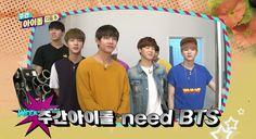 [CAP] BTS @ Weekly Idol (Preview)