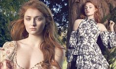 Sophie Turner is a seductive beauty in high-fashion photoshoot