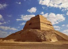 A Good View of the Meidum Pyramid