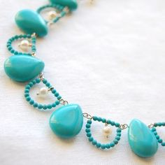 I love the color and design.  Doesn't directly link to jewelry though - just her blog...