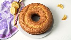 This Lemon Pound Cake Is A Recipe Worth Bookmarking Delish Lemon Desserts, Cookie Desserts, Delicious Desserts, Cake Cookies, Cupcake Cakes, Cupcakes, Lemon Blueberry Bundt Cake, Tube Cake Pan, Bunt Cakes