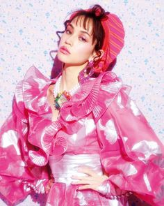 Picture of Kiko Mizuhara Pink Fashion, Cute Fashion, Trendy Fashion, Fashion Show, Fashion Looks, Fashion Photography Inspiration, Style Inspiration, Kiko Mizuhara Style, Vogue Japan