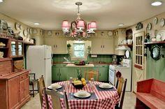 Farmhouse Kitchen by Connie Cunningham Designs & B&B