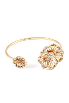Crystal Fia Bracelet in Gold   Awesome Selection of Chic Fashion Jewelry   Emma Stine Limited