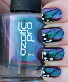 Ozotic 505 Butterfly Manicure