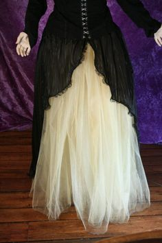 Custom Color Victorian Beauty Ball gown prom by SistersOfTheMoon, $150.00