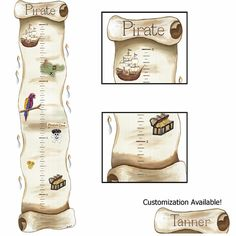 Pirate Ship Map Growth Chart Sherri Blum Wall Sticker >>> Check out the image by visiting the link. (This is an affiliate link and I receive a commission for the sales) Pirate Bedding, Pirate Nursery, Neverland Nursery, Ship Map, Learning Toys For Toddlers, Personalized Growth Chart, Cool Kids Rooms, Wall Decor Stickers, Wall Decal