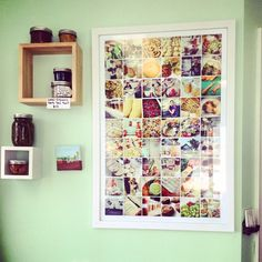 The first year of a restaurant's Instagram photos printed on our posters. Thanks @scapespei for sharing this!