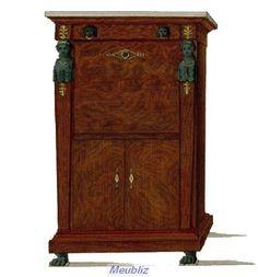 si ge curule pi tement en x nouveau meuble du style directoire style directoire pinterest. Black Bedroom Furniture Sets. Home Design Ideas