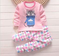 Baby Warm Pajamas Sets