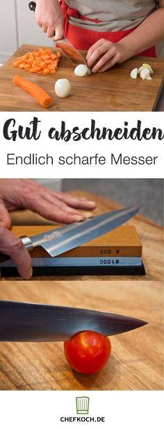 Messer richtig schleifen