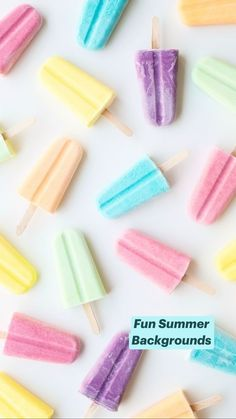 Fun Summer Backgrounds