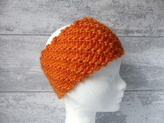 cache oreilles large en laine épaisse pour le ski ou la rando.  http://www.alittlemarket.com/chapeau-bonnet/fr_bandeau_cache_oreilles_orange_cotes_obliques_en_laine_epaisse_fait_main_-12599275.html
