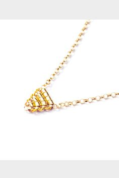 Tiniest Triangle Necklace