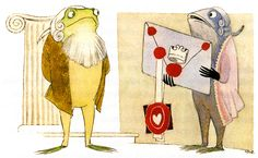 "Tove Jansson - Illustrations for ""Alice in Wonderland"" 24"
