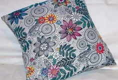Quick & easy pillow slip cover from @Stacy Stone Schlyer (this is my favorite method for pillow covers)
