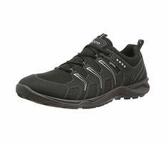 ecco men lace up shoes terracruise black black black