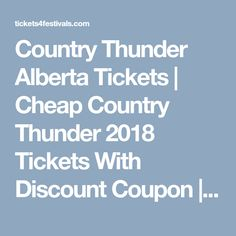 New Promo Code for Country Thunder