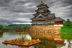 Matsumoto Castle Nagano Japan  松本城 長野県 日本