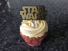 12 Star Wars Logo Cake Pick Topper Decoration