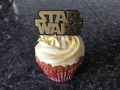 12 Star Wars Logo Cake Pick Topper Decoration