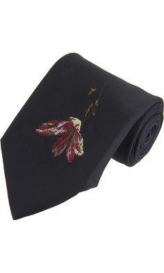 Alexander McQueen - Flower Tie